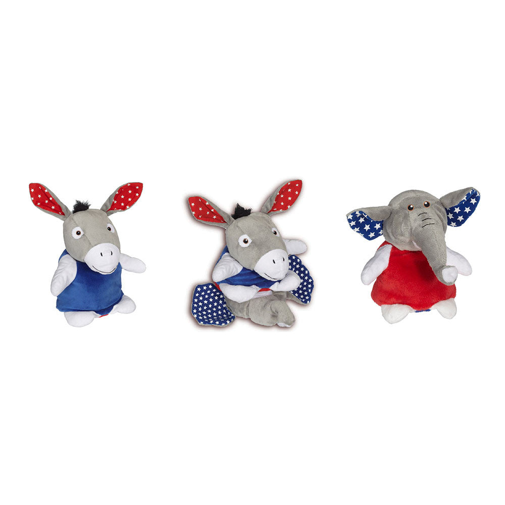 "Party Animals Donkey/ Elephant 6""- 70721"