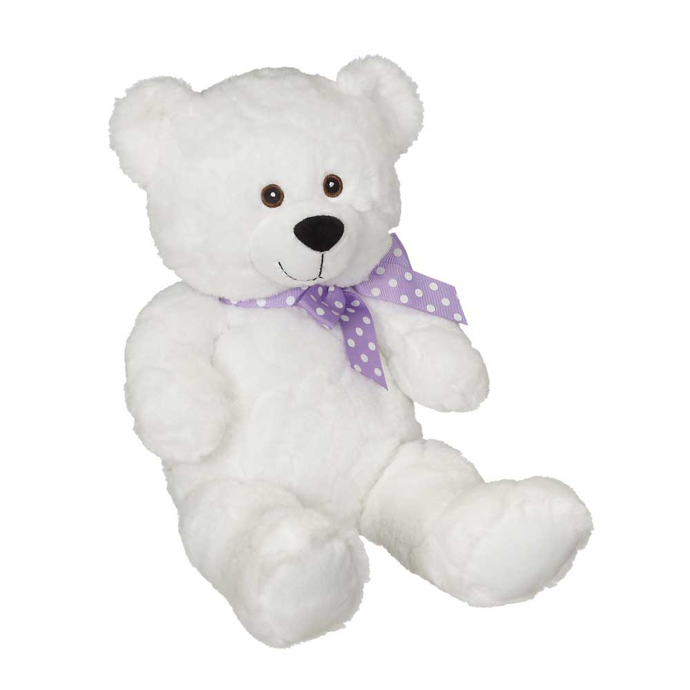 "Jeremy Bear, White 9"" - 72009W"