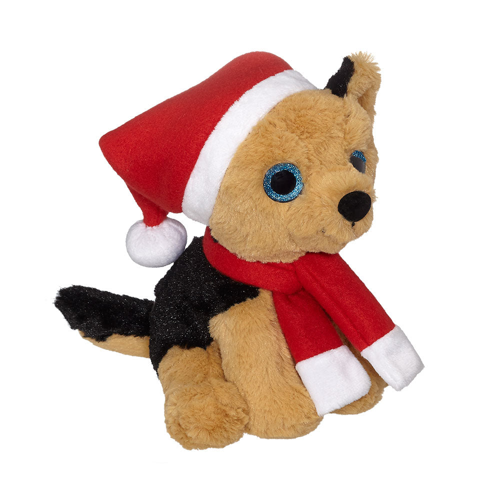 "Santa German Shepherd 8"" - 18190"