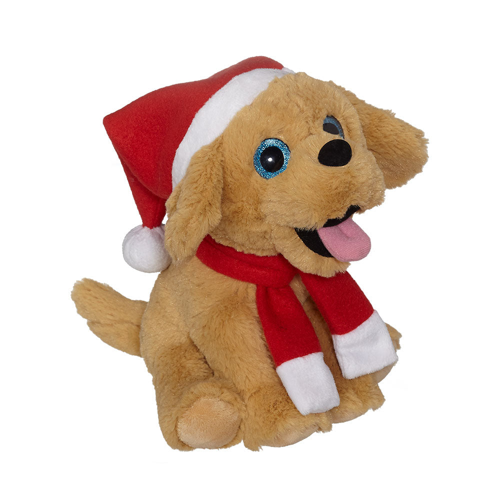 "Santa Golden Retriever 8"" - 19184"