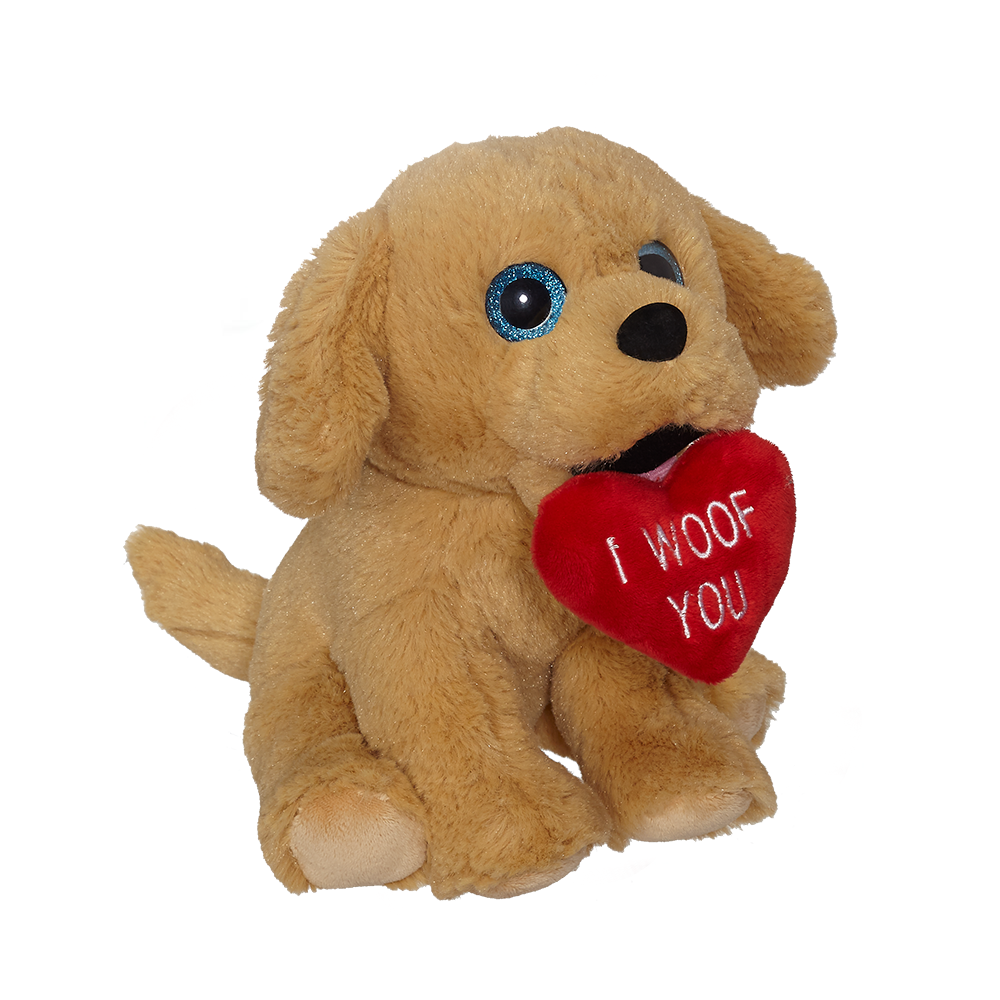 "Valentine Golden Retriever 8"" - 19185"