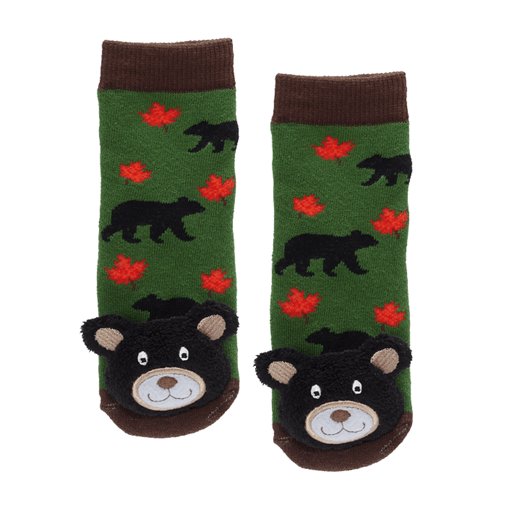 Maple Leaf Black Bear - 27051