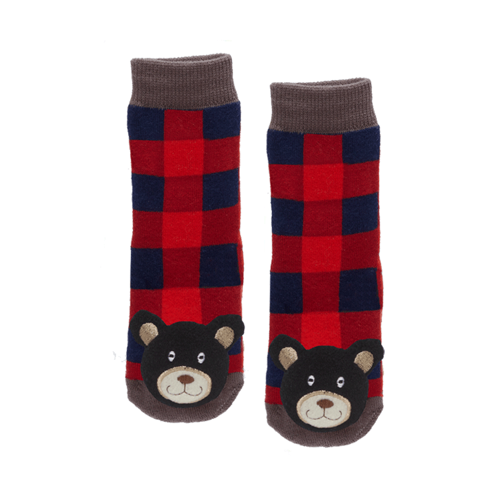 Plaid Black Bear(No leaf) - 27064