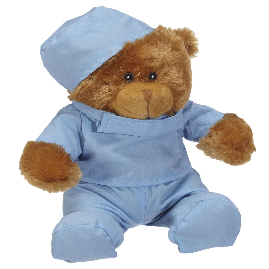 "Brady Scrub Bear Blue 7""- 33863"