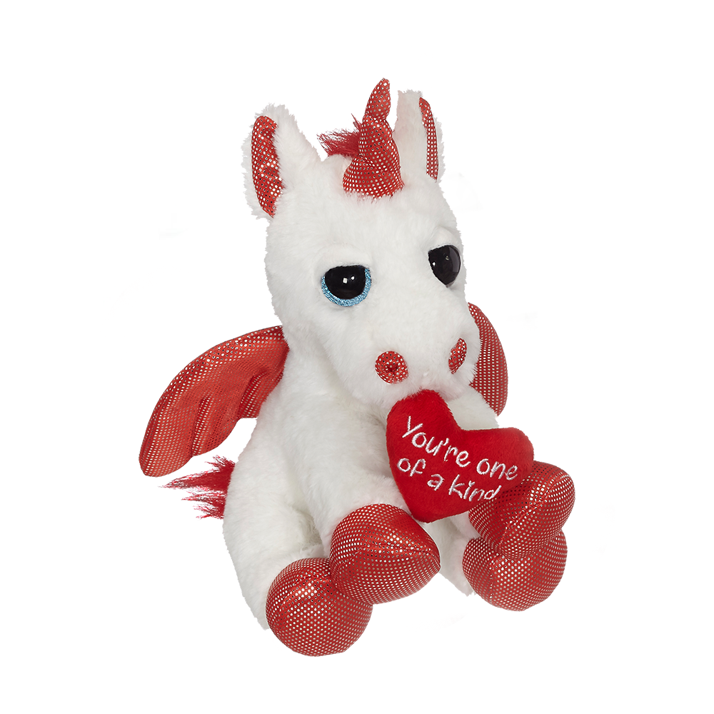 "Valentine Unicorn 8"" - 30634"