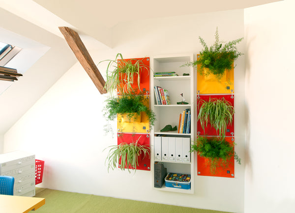 Green Pockets von Blooming Walls
