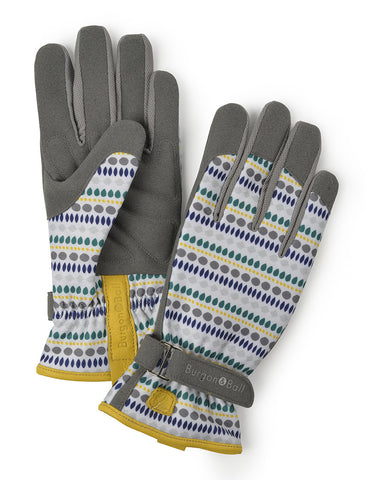 """love the glove"" Handschuhe Blau 
