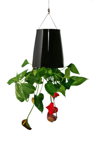 Sky Planter Ceramic M black - boskke