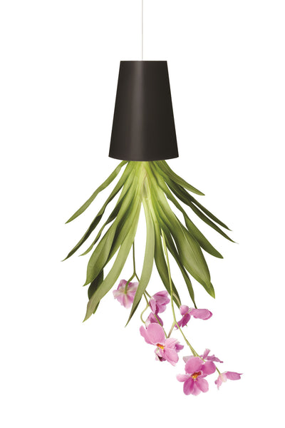 Sky Planter Recycled S black - boskke