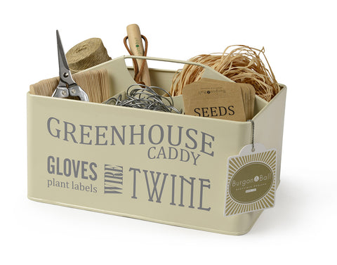 Greenhouse Caddy Cream | Burgon & Ball
