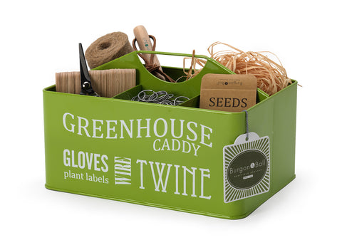 """Greenhouse Caddy Green"" Kiste - Burgon & Ball"
