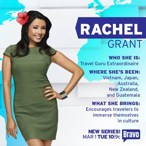 "RACHEL GRANT JET-SETS AROUND THE WORLD IN BRAVO'S NEW DOCU-SERIES ""TOUR GROUP"""
