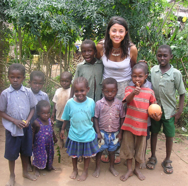Rachel Grant in Kenya - livelihood projects
