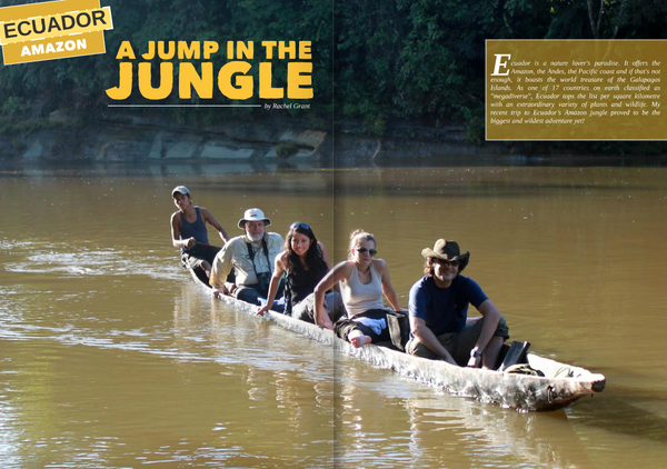 Aura Travel - A Jump in the Jungle!