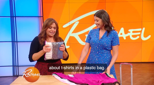 Rachael Ray Show - 8 Genius Packing Tips!