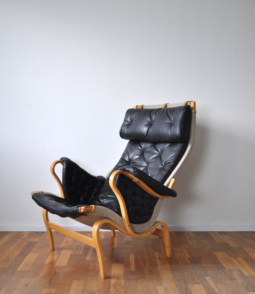 Bruno Mathsson lounge chair Pernilla 69 for DUX, Sweden