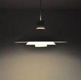 Trapez pendant lamp designed by Christian Hvidt for Nordisk Solar Compagni