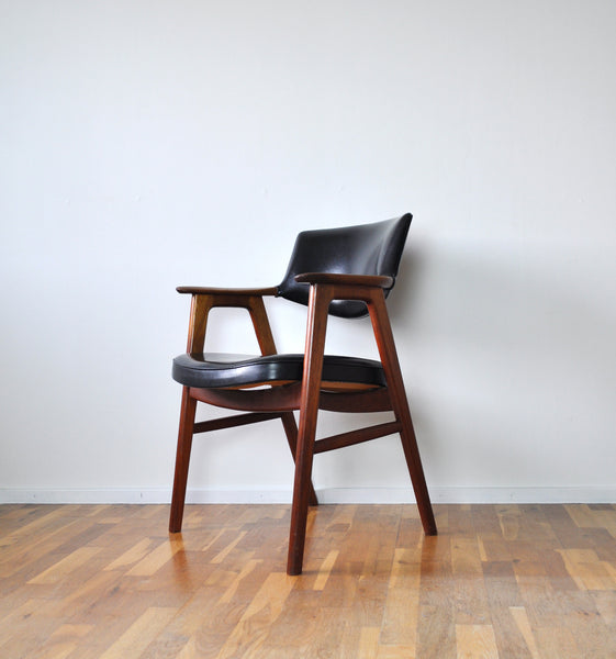 Danish Modern Teak Armchair by Erik Kirkegaard from the 1960s