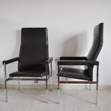 80s lounge chairs manufactured by Fritz Hansen