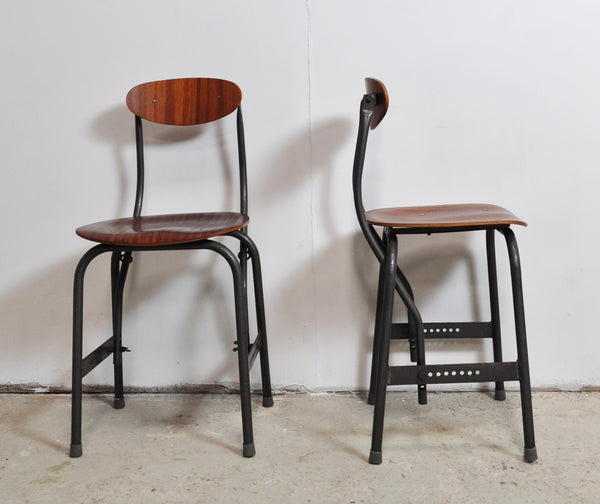 Rare Office Chairs By Fritz Hansen, Denmark 1935, set of 2