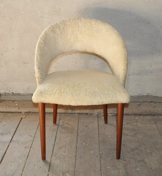 Vanity chair by Frode Holm, Denmark 1950s