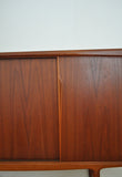 Rosewood highboard, designed by Gunni Omann for ACO, the 60s.