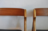 Dining chairs by Henning Kjærnulf, set of 2