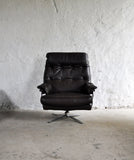 Arne Norell high back lounge chair