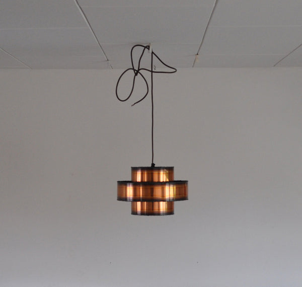 Copper pendant by Svend Aage Holm Sørensen from the 60s.