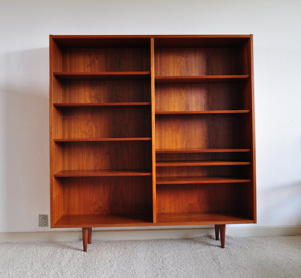 Teak Bookcase by Aage Hundevad for Hundevad & Co
