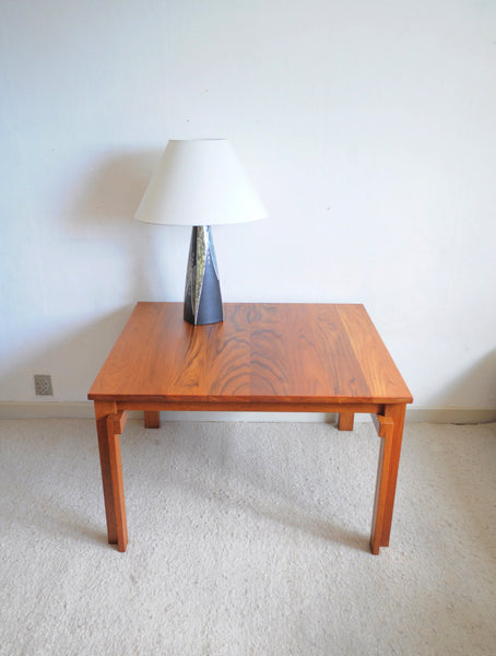 Rare Danish Modern Coffee Table in massive teak wood by Peter Hvidt & Orla Mølgaard for France & Søn