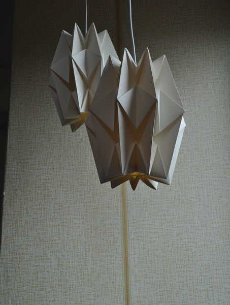 Le Klint hand-pleated hanging lamp by Peter Hvidt & Orla Mølgaard-Nielsen