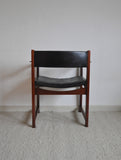 Teak and rosewood armchair model 370 designed by Peter Hvidt & Orla Mølgaard-Nielsen