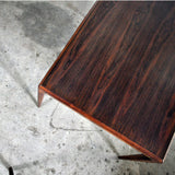 Rosewood coffee table designed by Johannes Andersen