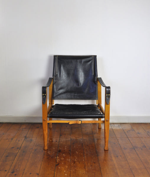 Kaare Klint Safari Chair by Rud Rasmussen, Denmark
