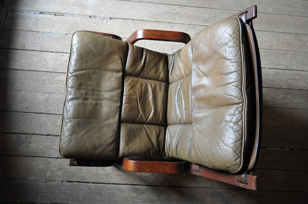 Rare and stunning norwegian easy chair