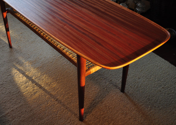 Danish coffee table made of teakwood