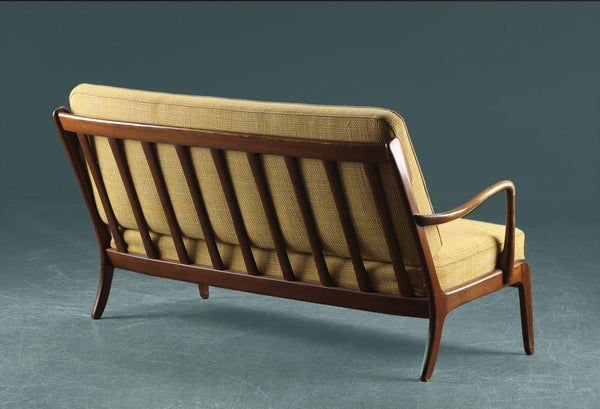 2 seater by Ole Wanscher. France & Søn, early 50s.