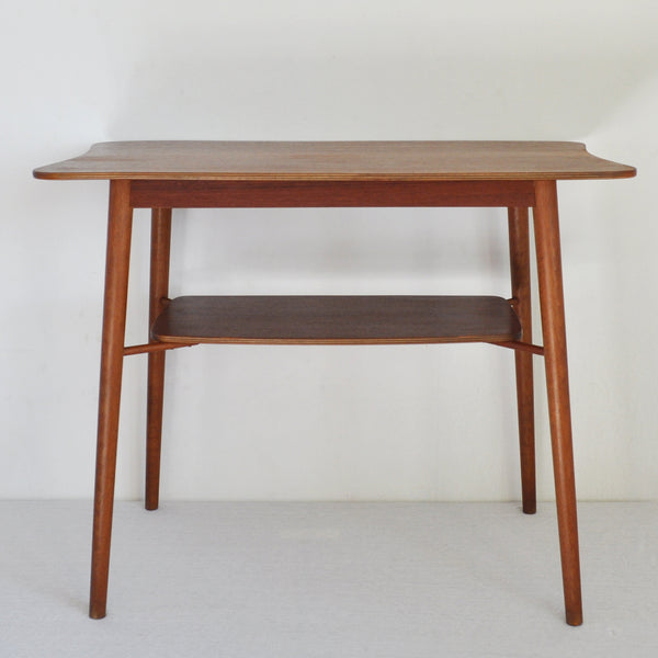 Mid century Occasional Teak Side Table with a organic shape, 1960s