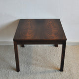 Scandinavian vintage rosewood side table