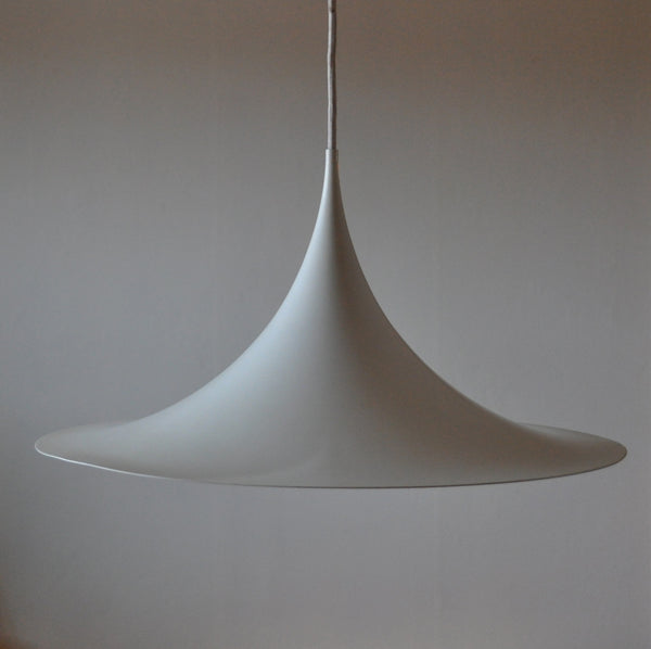 The iconic Semi lamp - sharp, clean lines and a geometric shape