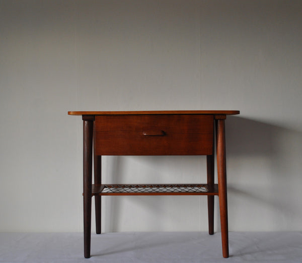 Danish teak teak side table or night stand