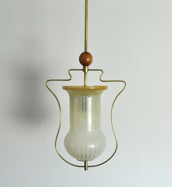 Art Deco Pendant Light, Scandinavian, 1930s