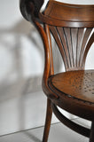 A rare early model nr. 233 Bentwood Armchair manufactured by Thonet in Austria