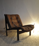 Norwegian Hunter lounge chair by Torbjørn Afdal for Bruksbo