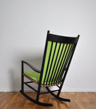 Scandinavian Modern Hans J. Wegner Rocking Chair for FDB