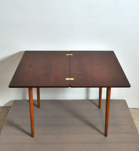 Danish Midcentury Game Table by Hans J. Wegner for Andreas Tuck