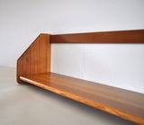 Danish Modern Wall Bookshelf in oak by Hans J. Wegner, 1950s
