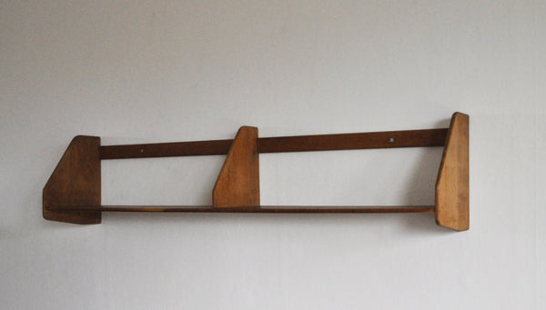 Danish Modern Wall Bookshelf in oak by Hans J. Wegner for Ry Møbler, 1950s