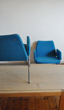 A pair of rare and stylish danish easy chairs